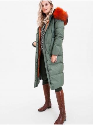 Kabáty pre ženy KARA - zelená dámské M