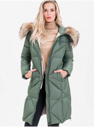 Kabáty pre ženy KARA - zelená dámské S