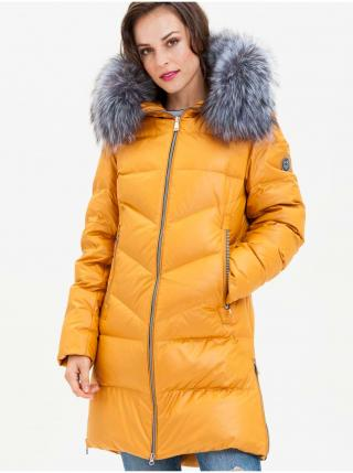 Kabáty pre ženy KARA - žltá dámské S