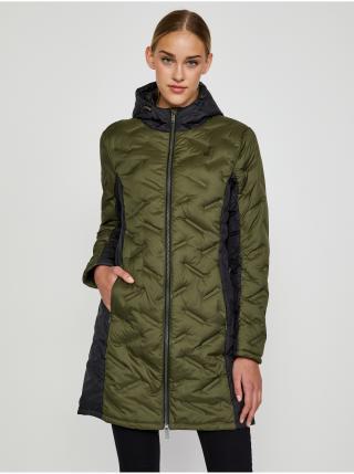 Kabáty pre ženy LOAP - tmavozelená, čierna dámské M
