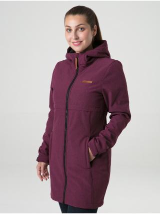 Kabáty pre ženy LOAP - vínová dámské XS