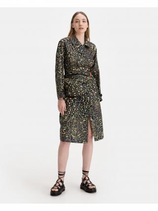 Kabáty pre ženy Replay - zlatá, hnedá dámské zelená XXS