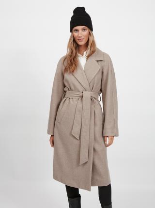 Kabáty pre ženy VILA - béžová dámské XS