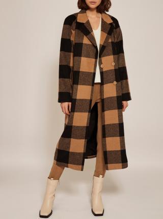Kabáty pre ženy VILA - hnedá, čierna dámské XS