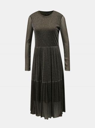 Kaki šaty VERO MODA Aurora dámské L