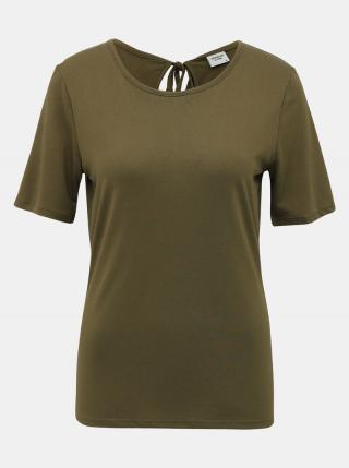 Kaki tričko Jacqueline de Yong Dalila dámské XS