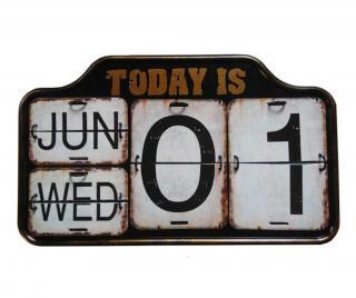 Kalendár Today Čierna
