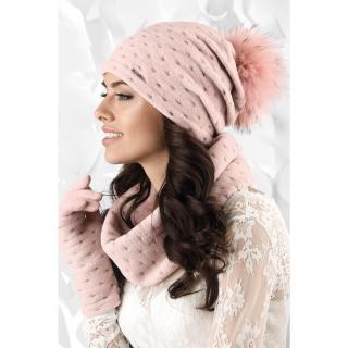 Kamea Womans Snood K.18.862.09 dámské Pink One size