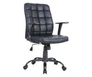 Kancelárska stolička Čierna