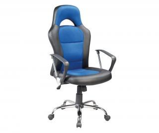 Kancelárska stolička Daren Blue Modrá