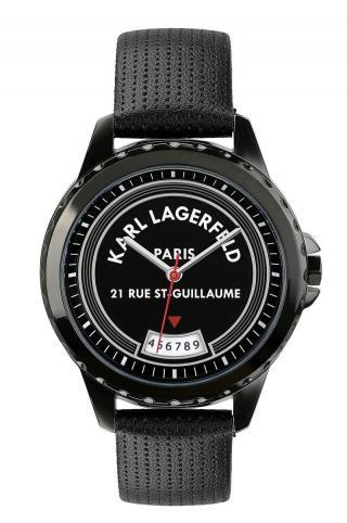 Karl Lagerfeld - Hodinky 5552729 dámské čierna ONE SIZE