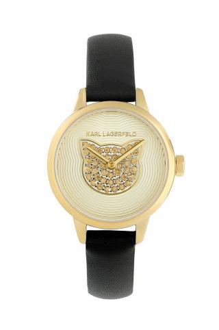 Karl Lagerfeld - Hodinky 5552736 dámské čierna ONE SIZE