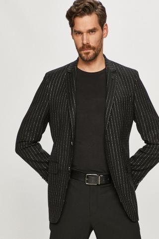 Karl Lagerfeld - Sako pánské čierna 48