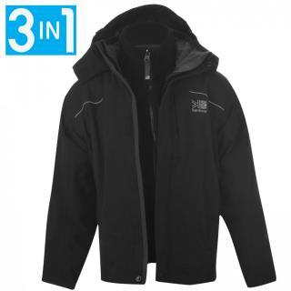 Karrimor 3 in 1 Jacket Junior pánské Black M