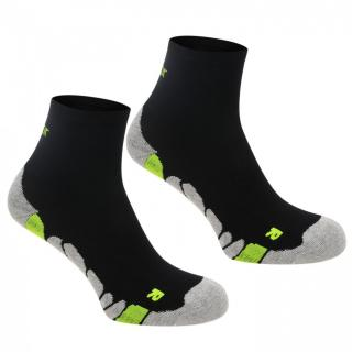 Karrimor Dri 2 pack socks Junior dámské Black Junior 1-6