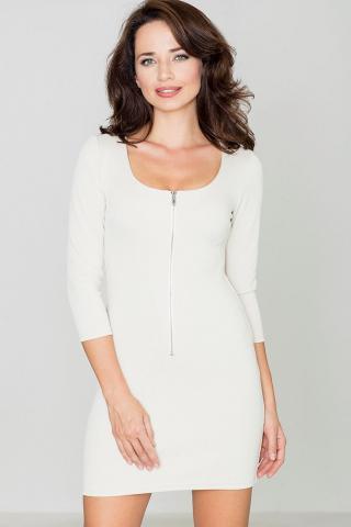 Katrus Womans Dress K104 dámské Beige M