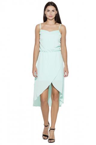 Katrus Womans Dress K395 dámské Green S