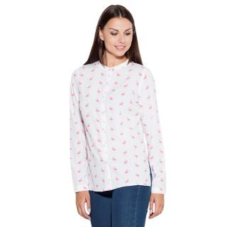 Katrus Womans Shirt K400 Pattern 13 dámské wzorzysty S