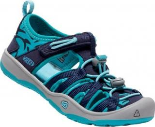 KEEN Detské sandále Moxie Sandal Dress Blues/Viridian 27-28