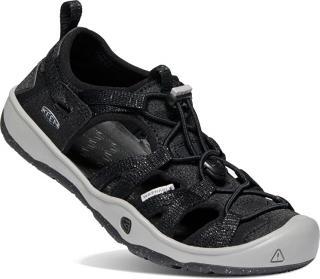 KEEN Detské sandále MOXIE SANDAL JUNIOR 1022886 black / Drizzle 32/33