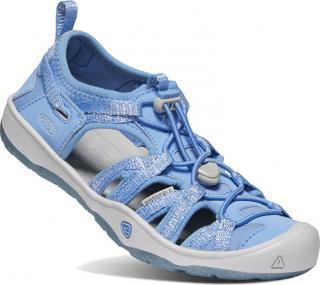 KEEN Detské sandále MOXIE SANDAL JUNIOR 1022888 della blue / vapor 35