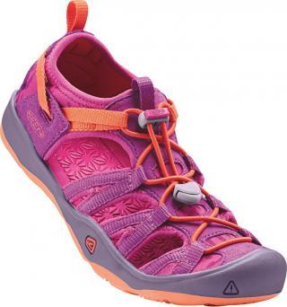KEEN Detské sandále Moxie Sandal Purple Wine/Nasturtium JUNIOR 35