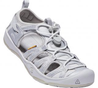 KEEN Detské sandále Moxie Sandal Silver JUNIOR 35