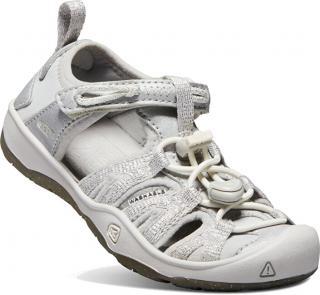 KEEN Detské sandále Moxie Sandal Silver KIDS 22