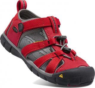 KEEN Detské sandále SEACAMP II CNX KIDS 1014470 racing red / gargoyle 29