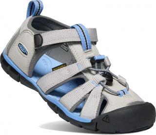 KEEN Detské sandále SEACAMP II CNX KIDS 1022977 vapor / steel grey 25/26