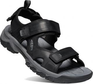 KEEN Pánske sandále Targhee III Open toe SANDAL 1022422 black / grey 45 pánské