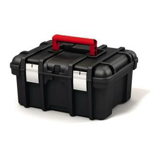 Keter Skříňka POWER TOOL BOX 16, černá/červená, 17191708
