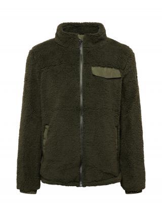 KILLTEC Flisová bunda  olivová pánské S