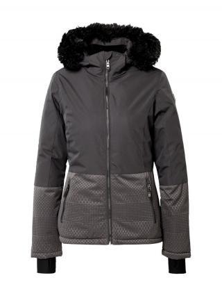 KILLTEC Funkčná bunda Kirstin  čierna / sivá dámské S-M