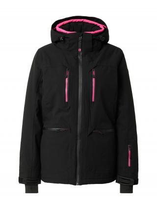 KILLTEC Outdoorová bunda  čierna / svetloružová dámské XS-S