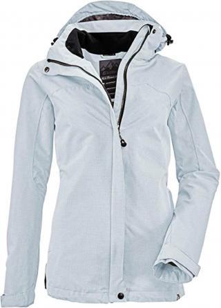 KILLTEC Outdoorová bunda Inkele  svetlomodrá dámské XL