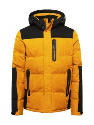 KILLTEC Športová bunda  medová / čierna pánské S