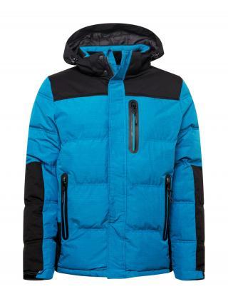 KILLTEC Športová bunda  nebesky modrá / čierna pánské S