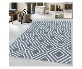 Koberec Costa Grey 80x150 cm Sivá & Striebristá 80x150 cm