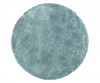 Koberec Fluffy Blue 160x160 cm Modrá 160x160 cm