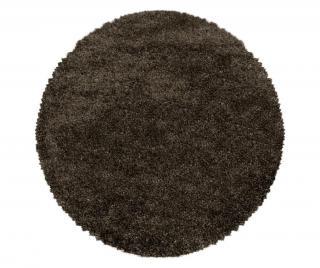 Koberec Fluffy Brown 80 cm Hnedá 80 cm