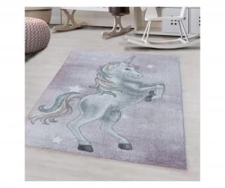 Koberec Fluffy Violet 80x150 cm Fialová 80x150 cm