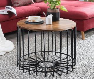 Konferenční stolek Varna Hnědá