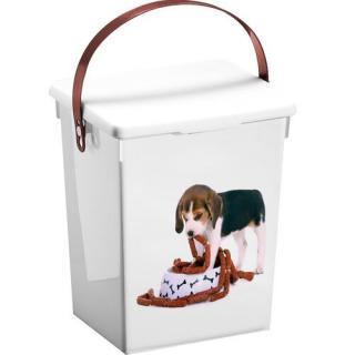 Kontajner na krmivo pes, 5 l, 23,5 x 18 x 16,5 cm