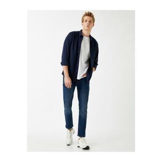 Koton 2kam45153ld Mens Jeans Dark Indigo pánské Other 31/32