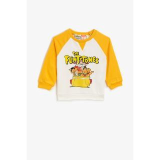 Koton Baby Boy The Flintstones Licensed Printed Orange Sweatshirt pánské Other 24-32 M