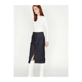Koton Belt Detail Skirt dámské Blue 40