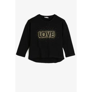 Koton Black Kids Sweatshirt dámské Other 3-4 Y