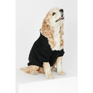 Koton Black Zipper Detailed Dog Sweatshirt Other XS