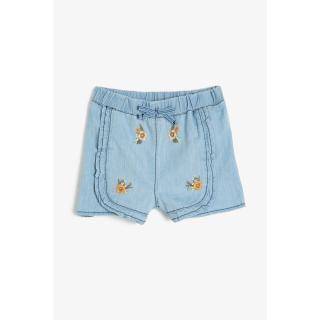 Koton Blue Baby Girl Shorts & Bermuda dámské 6-9 AY